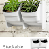 Vertical Living Wall Planter for Indoor Outdoor Herb Vegetable Flower Garden