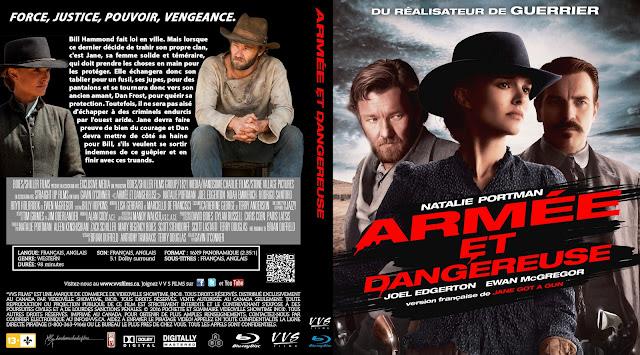 Armée Et Dangereuse (Jane Got a Gun) Bluray Cover