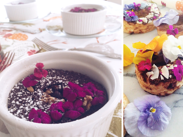 How to decorate with Edible Flowers - Food Trends