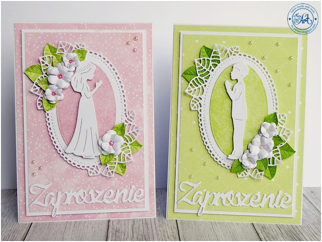 Zaproszenia komunijne / Communion invitations – DT Craft Passion