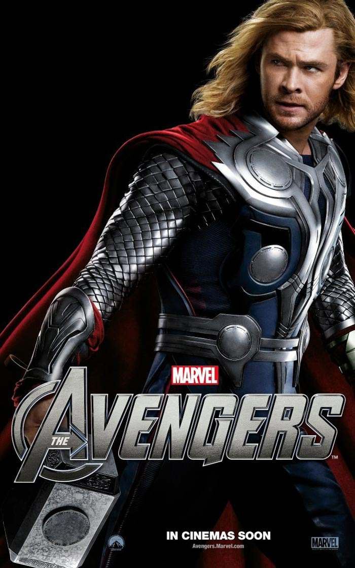 Marvel's The Avengers Character Posters Revealed - Reel ...