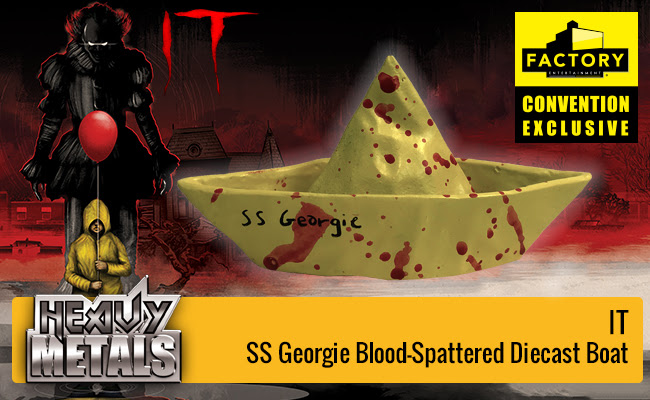3dd82674ec5 Factory Entertainment announced their seventh and eighth SDCC 2018  exclusives which is from the movie IT. The first one is the Heavy Metals SS  Georgie ...