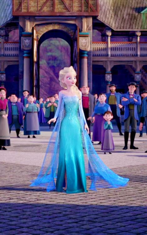 Elsa Frozen animatedfilmreviews.filminspector.com