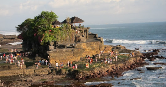 Fascination beauty of Tanah Lot
