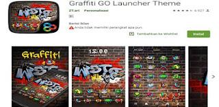 aplikasi tema graffiti keren