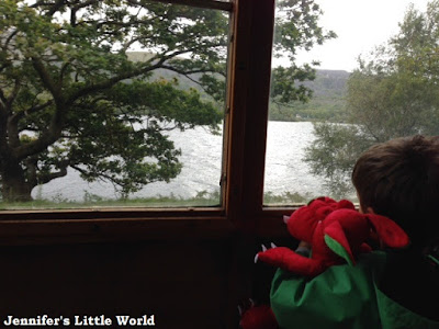 Llanberis Lake Railway visit