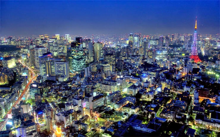 14. Tokyo, Japan - 30 Best and Most Breathtaking Cityscapes