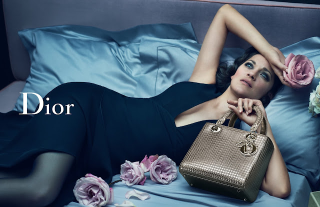 Dior's latest AW15 Lady Dior Ad Campaign & Video Starring Marion Cotillard