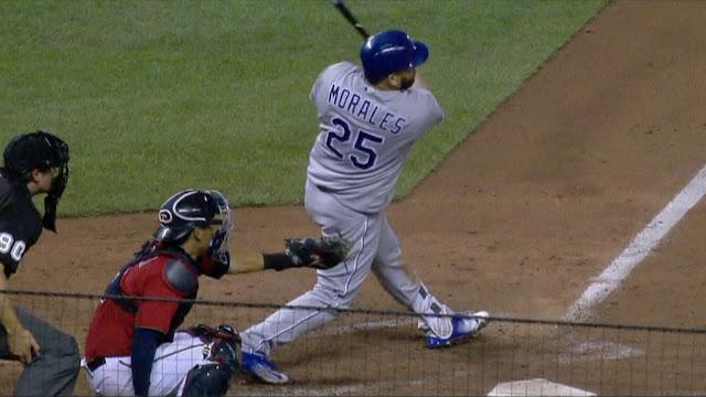 En la semana del domingo 4 hasta el sábado 10 de septiembre, no hubo en la Liga Americana un hombre más difícil de dominar que Morales
