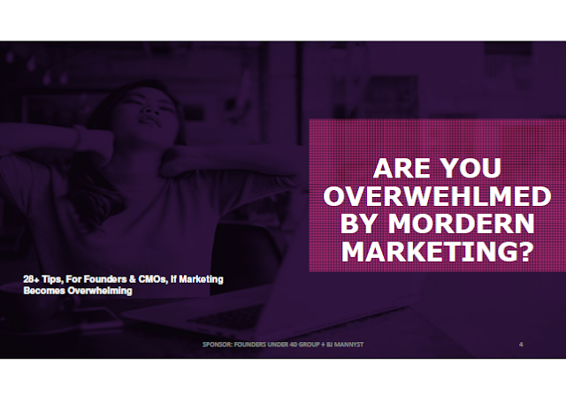 https://www.slideshare.net/EmmanuelOmikunle/28-tips-for-founders-cmos-if-marketing-becomes-overwhelming-87137089