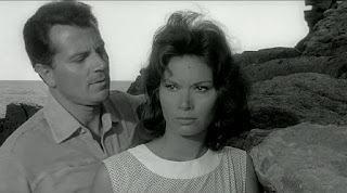 With Lea Massari in his most famous role in the  Antonioni classic L'Avventura
