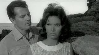 With Lea Massari in his most famous role in the  Antonioni classic L'Avventura