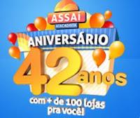 Aniversário Assaí Atacadista 42 Anos www.aniversarioassai.com.br