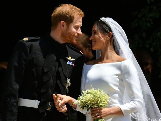 The wedding of Prince Harry and Meghan Markle. Image: USA Today