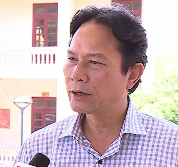 Ông Nguyễn Văn Tuấn, Chủ tịch UBND huyện Hà Trung nhận hình thức kỷ luật cảnh cáo
