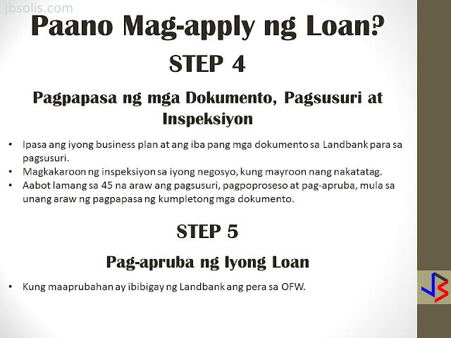 Ofw loan program