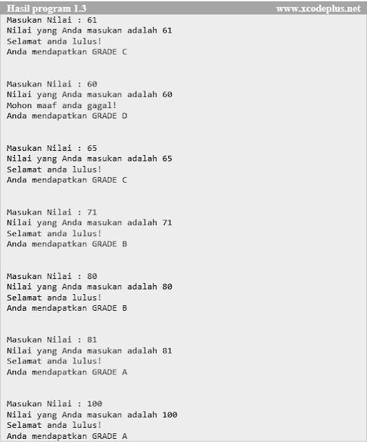 http://www.xcodeplus.net/2017/09/csharp-tutorial-statemen-if.html