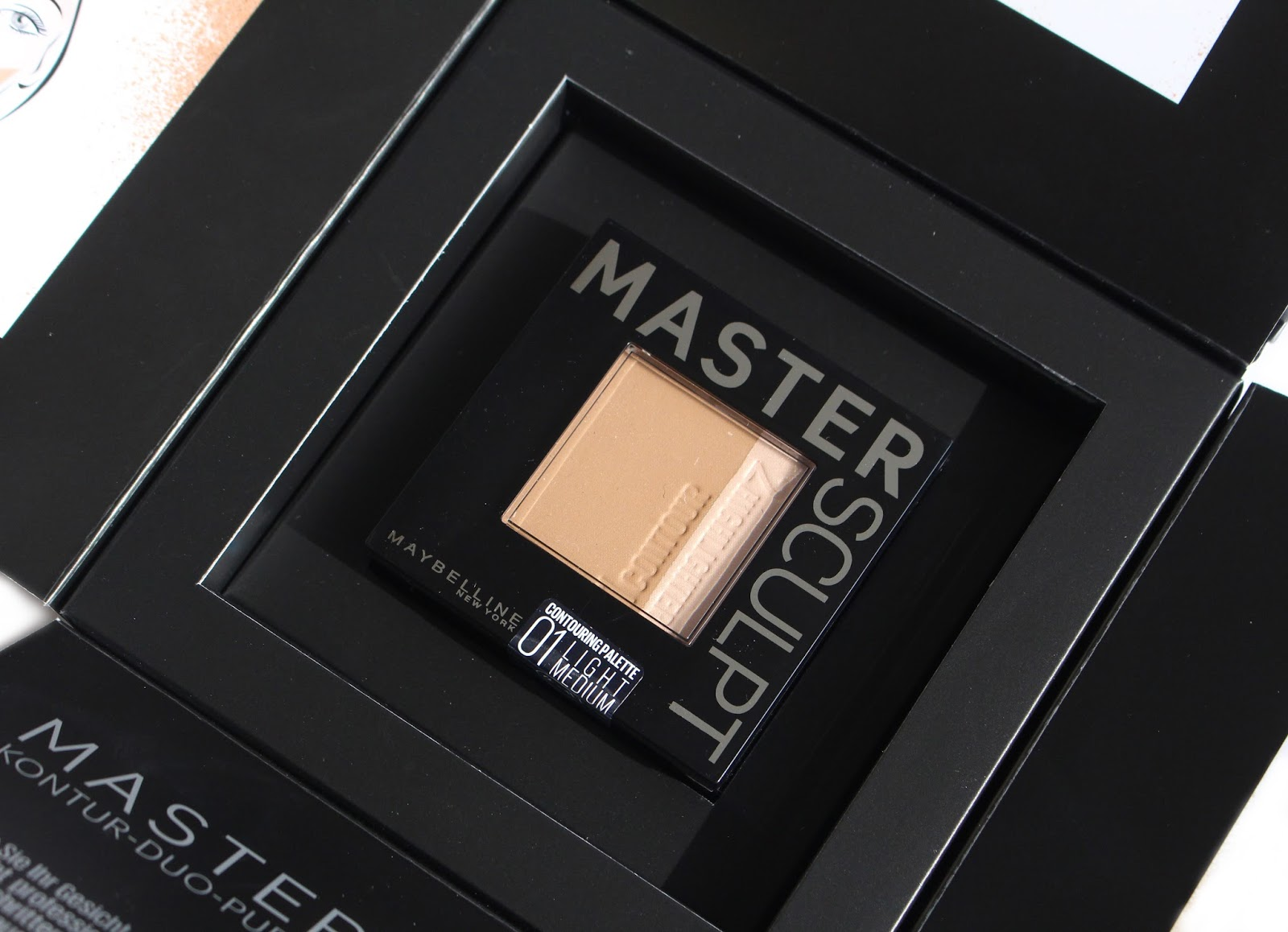 Contouring Rundes Gesicht Maybelline Master Sculpt Contouring Duo Powder Quot 01