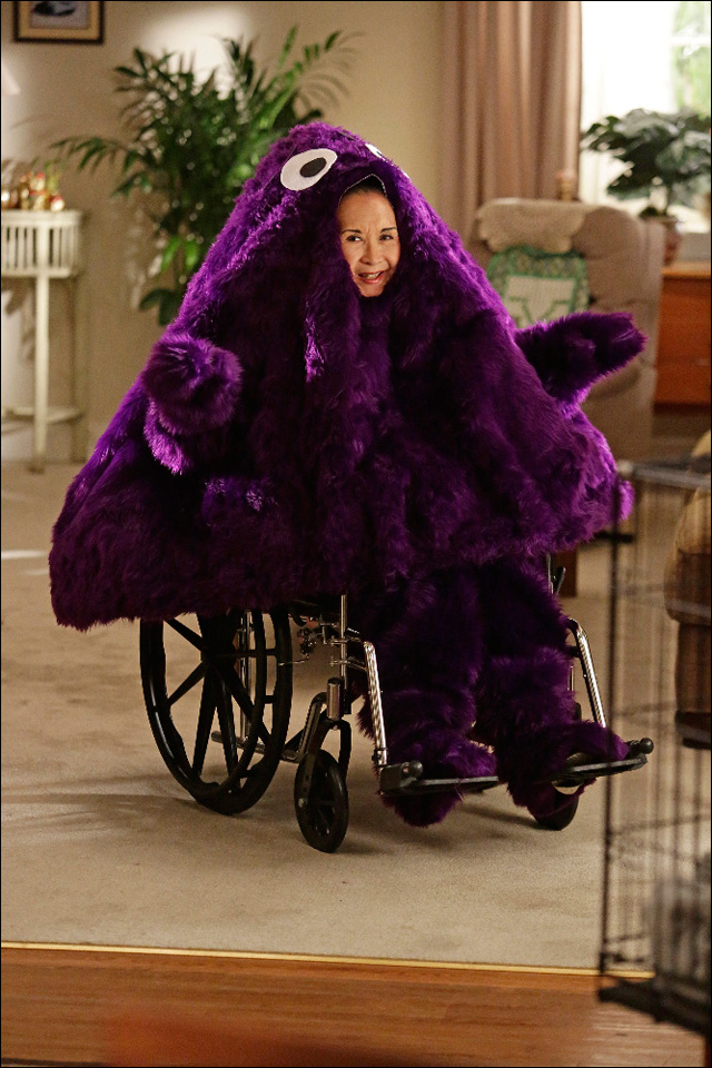 its another huang halloween on fresh off the boat - California Raisin Halloween Costume