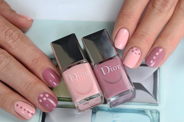 Dior Polka Dots nail polish set 003 Plumetis