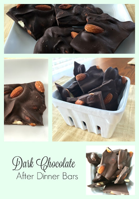Dark Chocolate After Dinner Bars