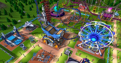 RollerCoaster Tycoon Adventures Gameplay