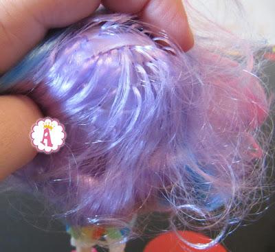 Прошиты ли волосы у игрушек Shopkins Wild Style S9