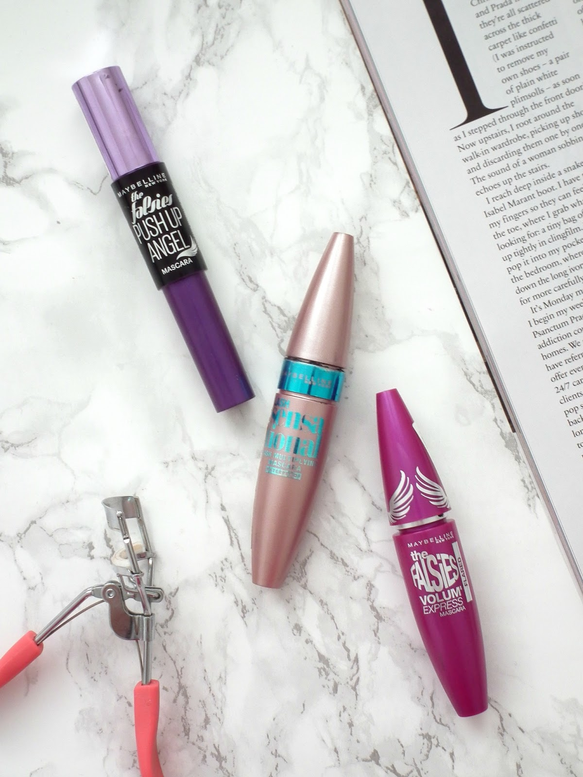 Top 3 Maybelline Mascaras