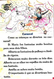 Leitura sobre carnaval