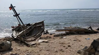 Misteri Mata Naga di Tengah Pantai Usai Tsunami Selat Sunda