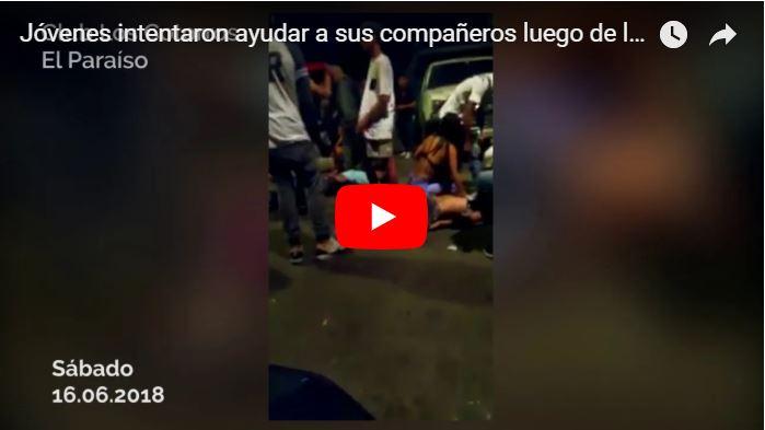 Aparece un video de la tragedia de Los Cotorros de El Paraíso