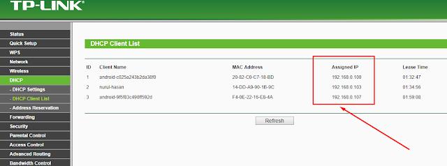tutorial membatasi kuota internet router