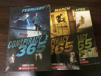Conspiracy 365 Book Series by Gabrielle Lord