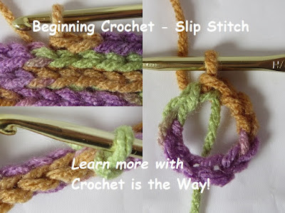 crochet, learn to, how to, slip stitch, tension tips