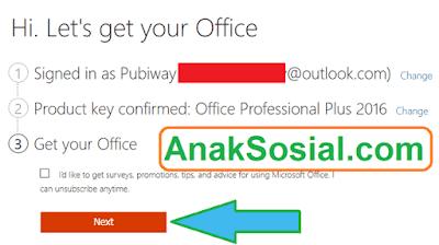 Siap untuk ambil Office 2016