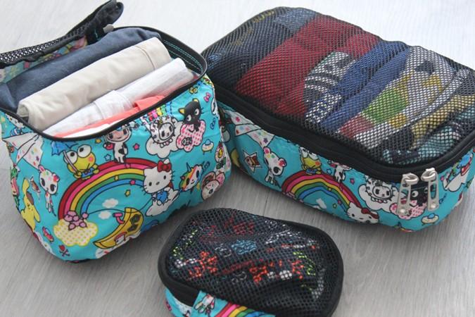Organizadores de maletas be organized jujube