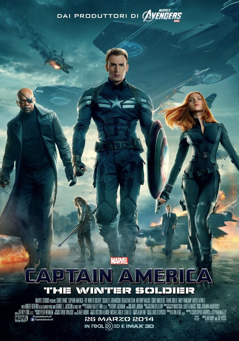 Captain America - Il soldato d'Inverno: il teaser poster italiano