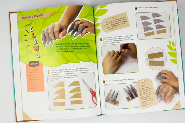 3 Cardboard Kids Craft Books- Such a great series of cardboard and duct tape craft books
