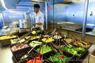 Celebrity Infinity, 餐廳, 食物, meals, food, Ocean View Cafe, 自助餐