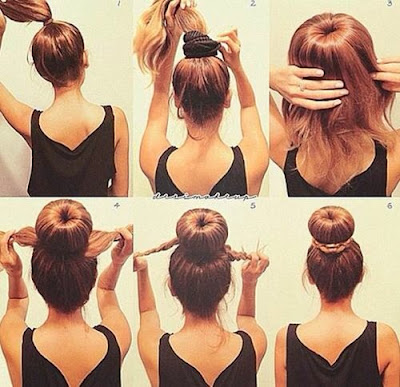 The Modern Messy Bun