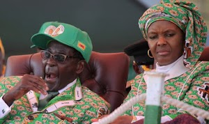 Zimbabwe First Lady Announces Herself As President Because Of President Old Age; to take over from her husband