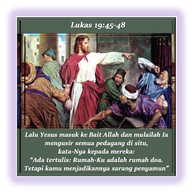 LUKAS 19:45-48