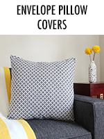 Envelope Pillow Covers