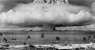 Prueba de bomba atómica
