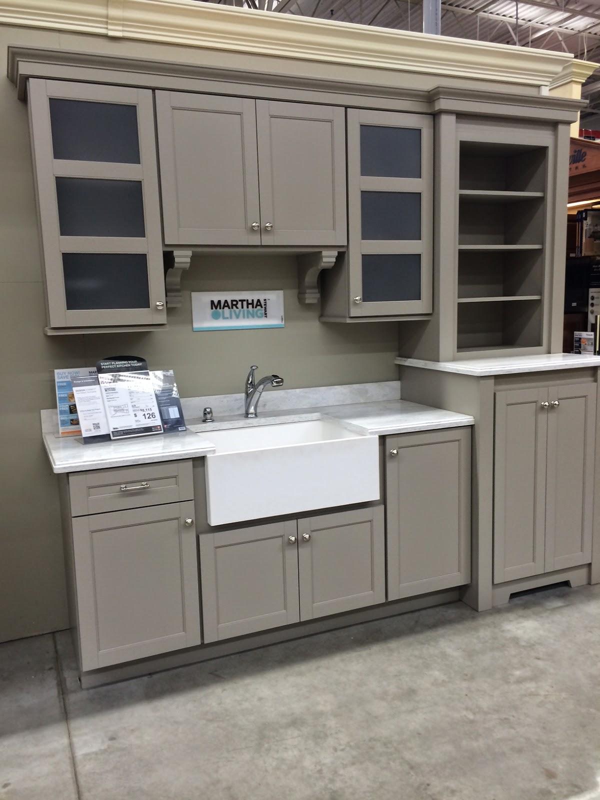 kitchen remodel with martha stewart home depot kitchen cabinets Kitchen Remodel with Martha Stewart Cabinets