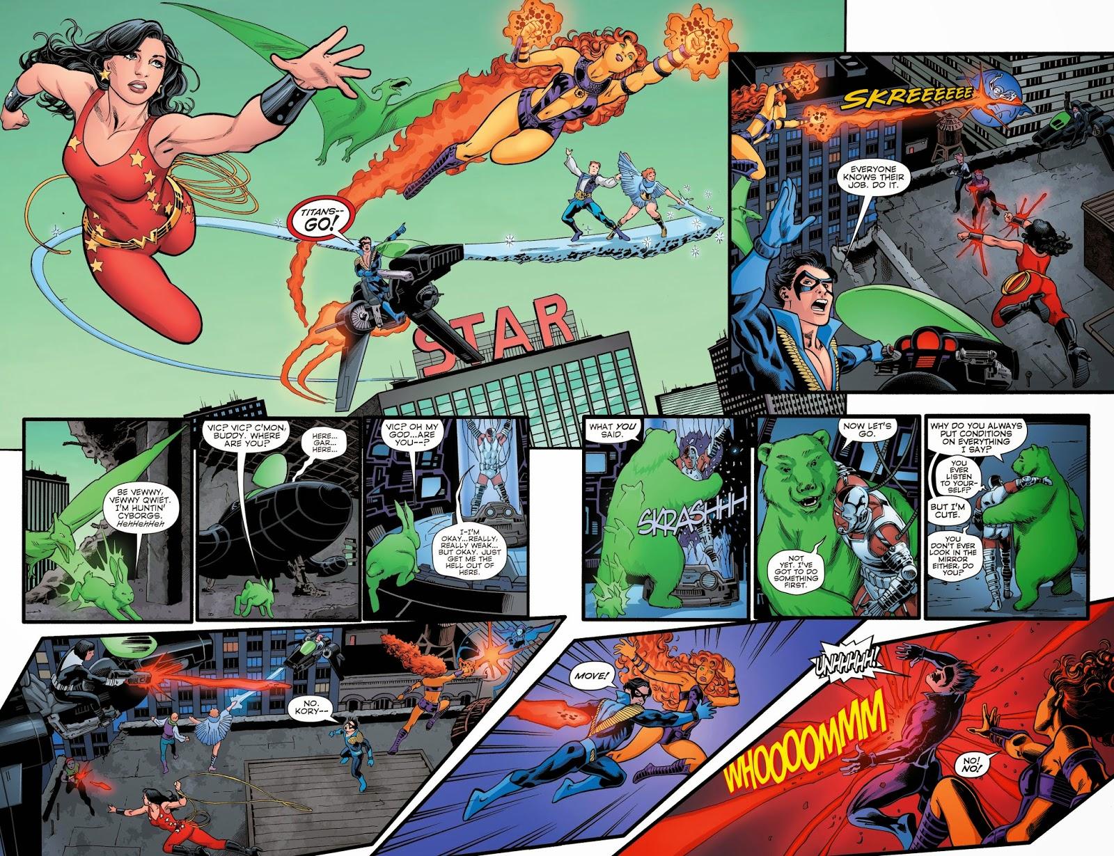 Weird Science Dc Comics Convergence The New Teen Titans 2