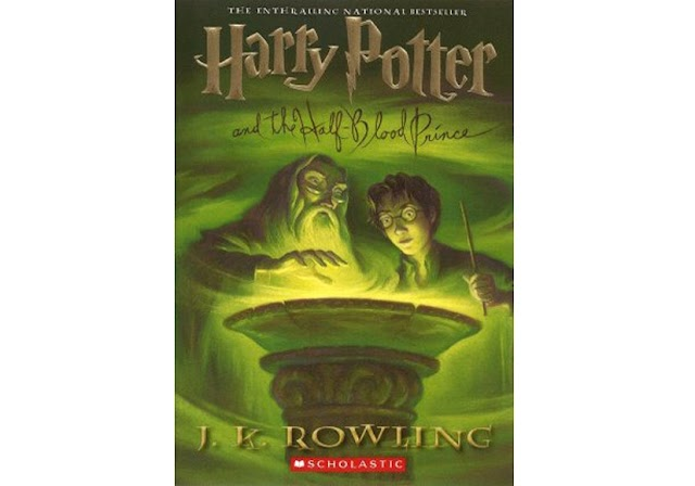 #17   Harry Potter and The Half-Blood Prince - JK. Rowling
