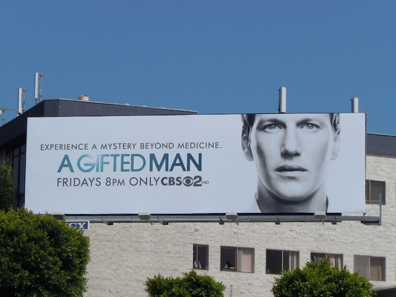 Patrick Wilson A Gifted Man billboard