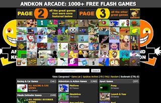 موقع ألعاب يضم أكثر من 1000 لعبة فلاش