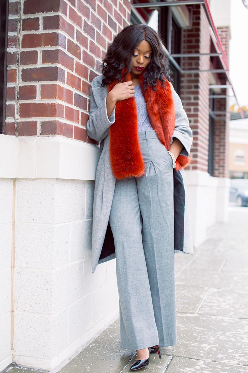 Winter style, jcrew stole, statement coats, www.jadore-fashion.com